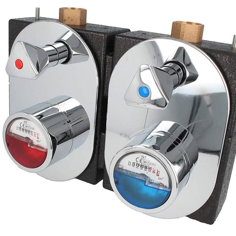 Wasseruhren Einbauservice Unterputzzähler